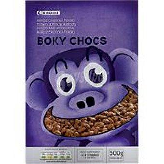 Eroski Boky Choc de arroz con chocolate Caja 500 g
