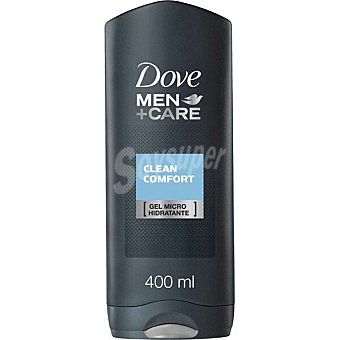 Dove Gel de baño Clean Comfort For Men Frasco 400 ml