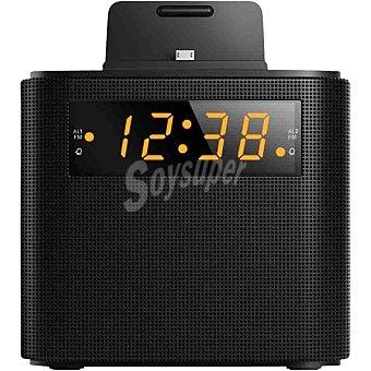PHILIPS AJ3200 Radio despertador con carga smartphone en color negro