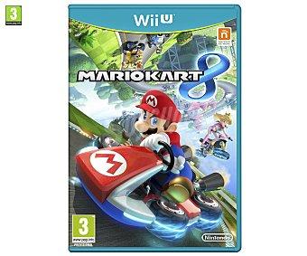 Carreras Videojuego Mario Kart 8 para Nintendo Wii U Género: Carreras, simulación. Recomendación por edad pegi: +3 1u