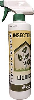 Bosque Verde Insecticida liquido insectos rastreros apto plantas (pistola) Botella de 500 cc