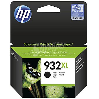 HP Nº 932 XL cartucho color negro