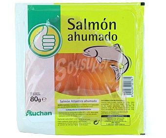 Productos Económicos Alcampo Salmón ahumado 80 gramos