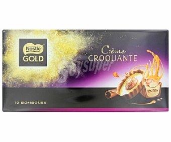 Chocolates Nestlé Bombones Gold Creme Croquant 90 g