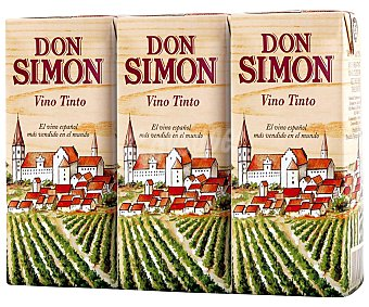 Don Simón Vino Tinto Pack 3 x 187 ml