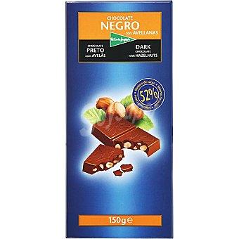 El Corte Inglés Chocolate negro con avellanas Tableta 150 g