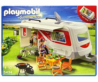 Playmobil Vacaciones Caravana Camping (5434)