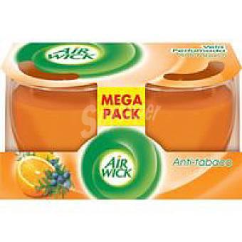 Air Wick Vela duplo antitabaco Pack 2 unid