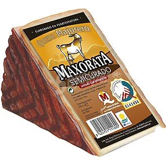 Maxorata queso semicurado untado con pimentón D. O. Majorero cuña 380 g