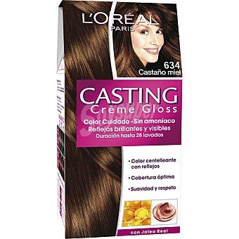 Casting Crème Gloss L'Oréal Paris Tinte castaño miel nº 634 caja 1 unidad 634 caja 1 unidad