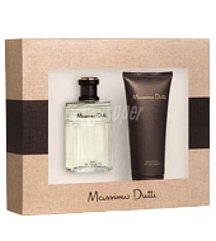 Massimo Dutti Estuche Colonia spray 100 ml+ after shave 100 ml. 1 ud