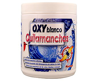 Auchan Quitamanchas en polvo blanco puro 1 kilogramo