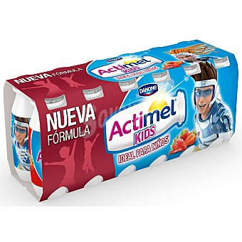 Actimel Danone Actimel para beber de fresa 12 unidades de 100 ml