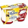 Yogur desnatado de mora-frambuesa Pack 4x125 g Sveltesse Nestlé