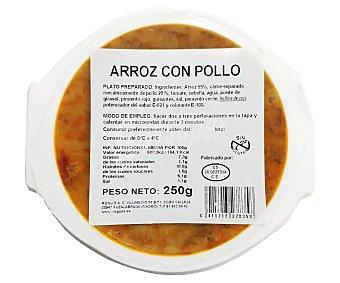 Rogusa Arroz con pollo listo para calentar y comer 250 g