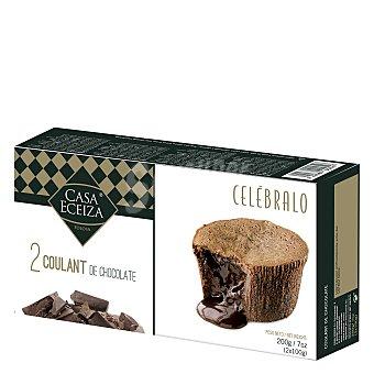 Casa Eceiza Pastel líquido de chocolate Caja 200 g