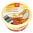 Crema de queso camembert Tarrina 125 gr DIA