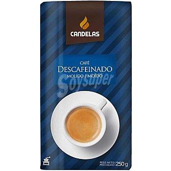 Candelas Café molido descafeinado Paquete 250 g