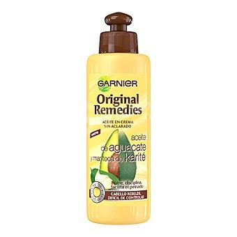 Original Remedies Garnier Aceite en crema de aguacate y manteca de karité 200 ml