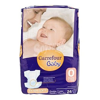 Carrefour Baby Pañal prematuros 24 ud
