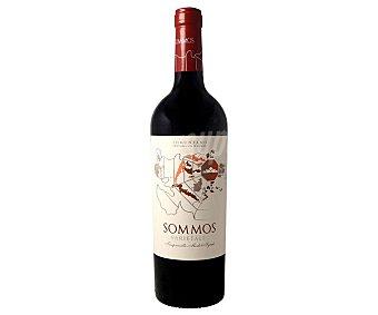 Sommos Vino tinto con denominación de origen Somontano varietales Botella de 75 cl