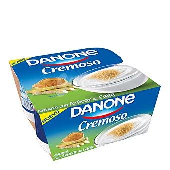 Danone Yogurt cremoso azucarado 4 ud