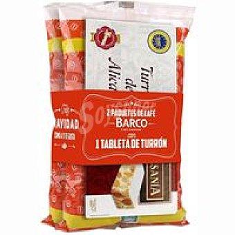 Barco Café torrefacto en grano pack 2x500 g
