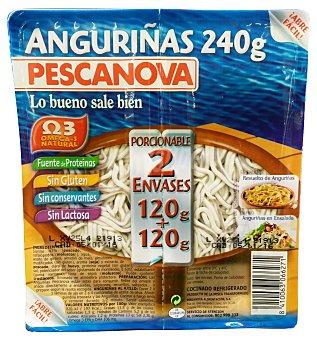 Pescanova Anguriña refrigerada 2 unidades de 120 g ( 240 g )