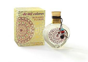 Rosario Flores Eau toilette mujer de mil colores Botella de 100 cc
