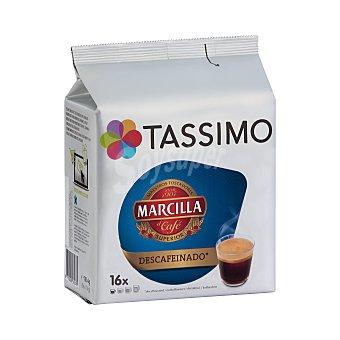 Tassimo Café Marcilla descafeinado Envase 16 cápsulas