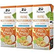 Lactozumo de frutas mediterráneas Pack 3x330 ml Zü Premium