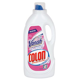 Colón Detergente máquina líquido gel vanish botella 19 lavados Botella 19 lavados