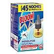 Insecticida eléctrico líquido antimosquitos 1 recambio. Bloom