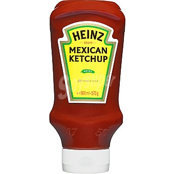 Heinz Ketchup mexicano Bote 570 g