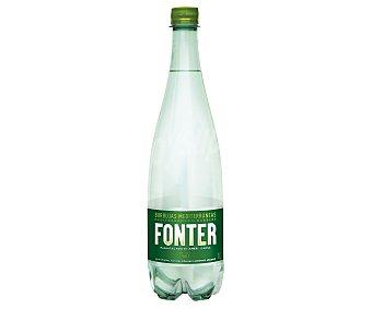 Fonter Agua mineral con gas Botella 1,25 litros