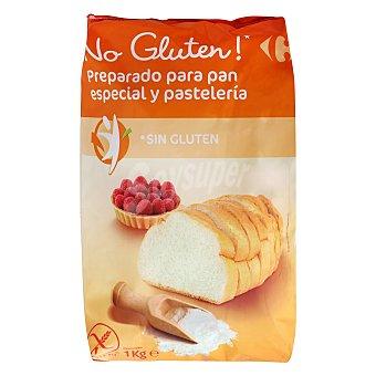 Carrefour-No gluten Preparado para pan y pastelería sin gluten 1 kg