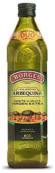Borges Aceite de oliva virgen extra (suave y afrutado) Botella de cristal de 750 ml