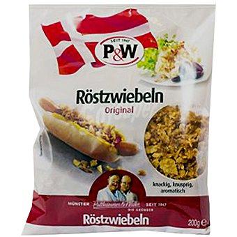 P&W Cebolla frita crujiente Envase 200 g