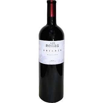 Las Reñas Vino tinto crianza D.O. Bullas botella 75 cl