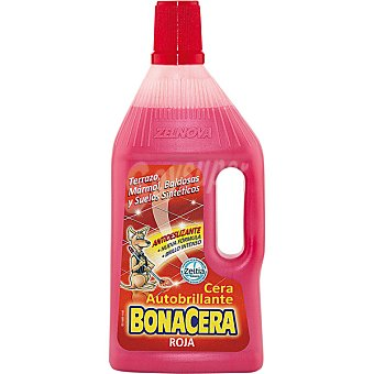 Bonacera Cera roja autobrillante Botella 750 ml