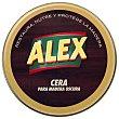 Cera para madera oscura 250 ml Alex