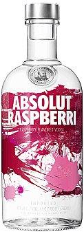 ABSOLUT vodka raspberri  botella 70 cl
