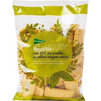 El Corte Inglés Regañas de pan con aceite de oliva virgen extra Bolsa 180 g
