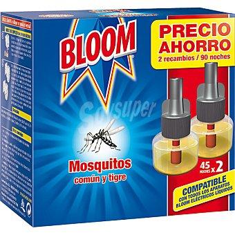 Bloom Insecticida eléctrico líquido 2 unid