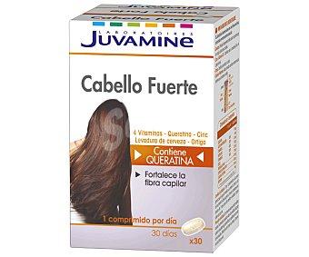 Juvamine Vitaminas cabello fuerte 30 uds