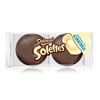 Dulcesol Solettes crema Pack de 4 uds