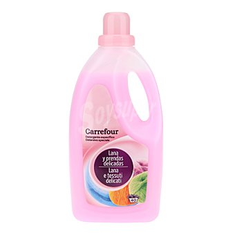 Carrefour Detergente líquido lanas Botella de 2 l