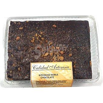 El Corte Inglés Bizcocho doble chocolate calidad artesana  Pieza 270 g