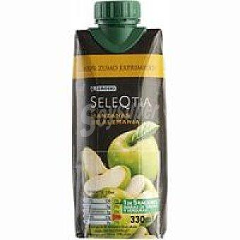 Eroski Seleqtia Zumo de manzana de Alemania Brik de 33 cl