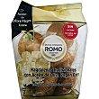 Magdalenas tradicionales con aceite de oliva virgen extra sin lactosa ni proteína de la leche Bolsa 400 g Romo